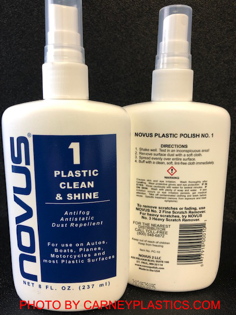 Display Case Cleaner - 8 oz. Pump Spray Bottle