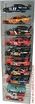 NASCAR Diecast Model Car Display Case 10 Car 1/24 Vertical