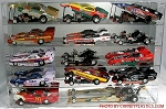 Funny Car Display Case Holds 15