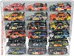 NASCAR Diecast Model Car Display Case 18 Car 1/24 Scale