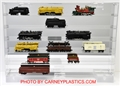 Train Display Case 24 Model Train Cars N Scale