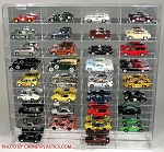 Diecast Display Case Holds 36 1/43