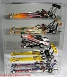 Top Fuel Dragster Display Case Holds 5