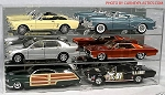 Muscle Car Display Case Holds 6 MUSCLE