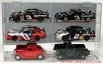 NASCAR Diecast Model Car Display Case 6 Car 1/24