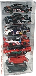 NASCAR Diecast Model Car Display Case  7 Car 1/24 Vertical