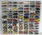 Hot Wheels Display Case 84 Car 1/64 Scale