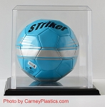 Soccer Ball Case Molded with Black Base M1010CPBASE