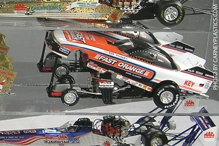 Funny Car Display Case 15 Car 1/24 Long