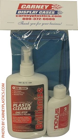 Display Case Cleaning Kit