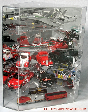 Diecast Display Case Corner Cabinet All Scales